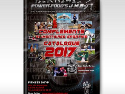 Power-Food's J-M.B Catalogue 2017