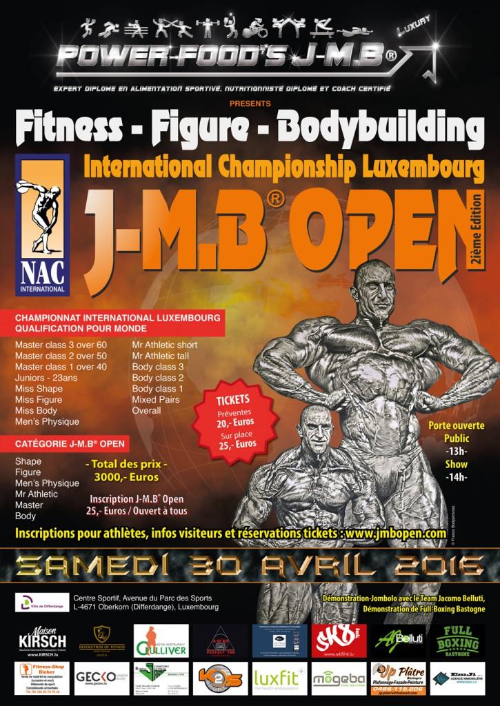 J-M.B OPEN 2016
