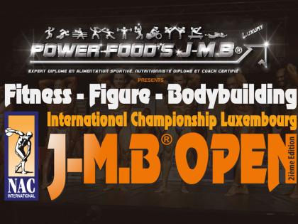 Programme de l'événement – J-M.B® OPEN 2016