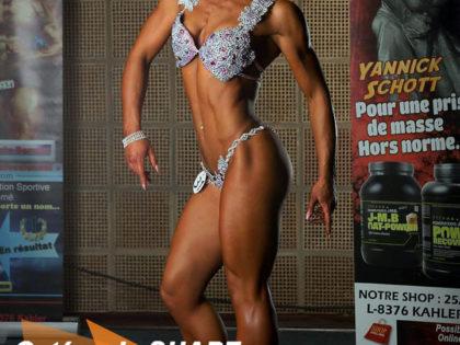 Marianne Leblanc vice championne catégorie Shape au J-M.B Open