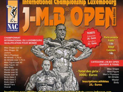 J-M.B® OPEN 2018 – Plakat