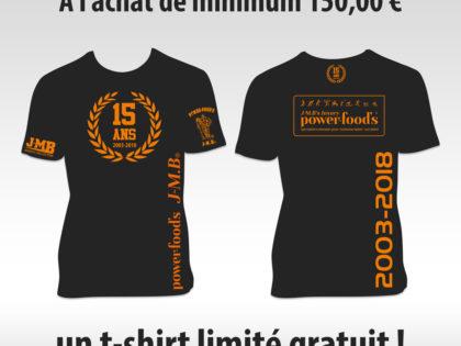 J-M.B t-shirt gratuit