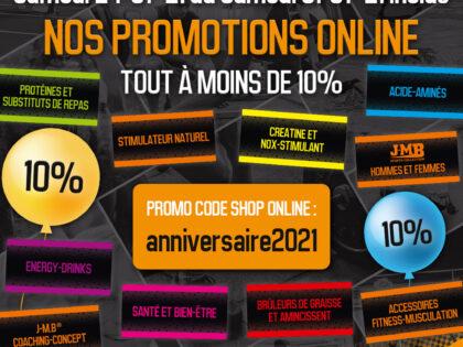 18ème Anniversaire Promotion